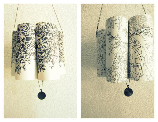 Little Rolled Paper Lamp Lanterns