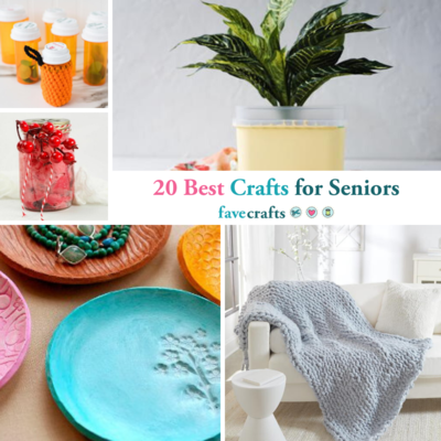 20 Best Crafts for Seniors