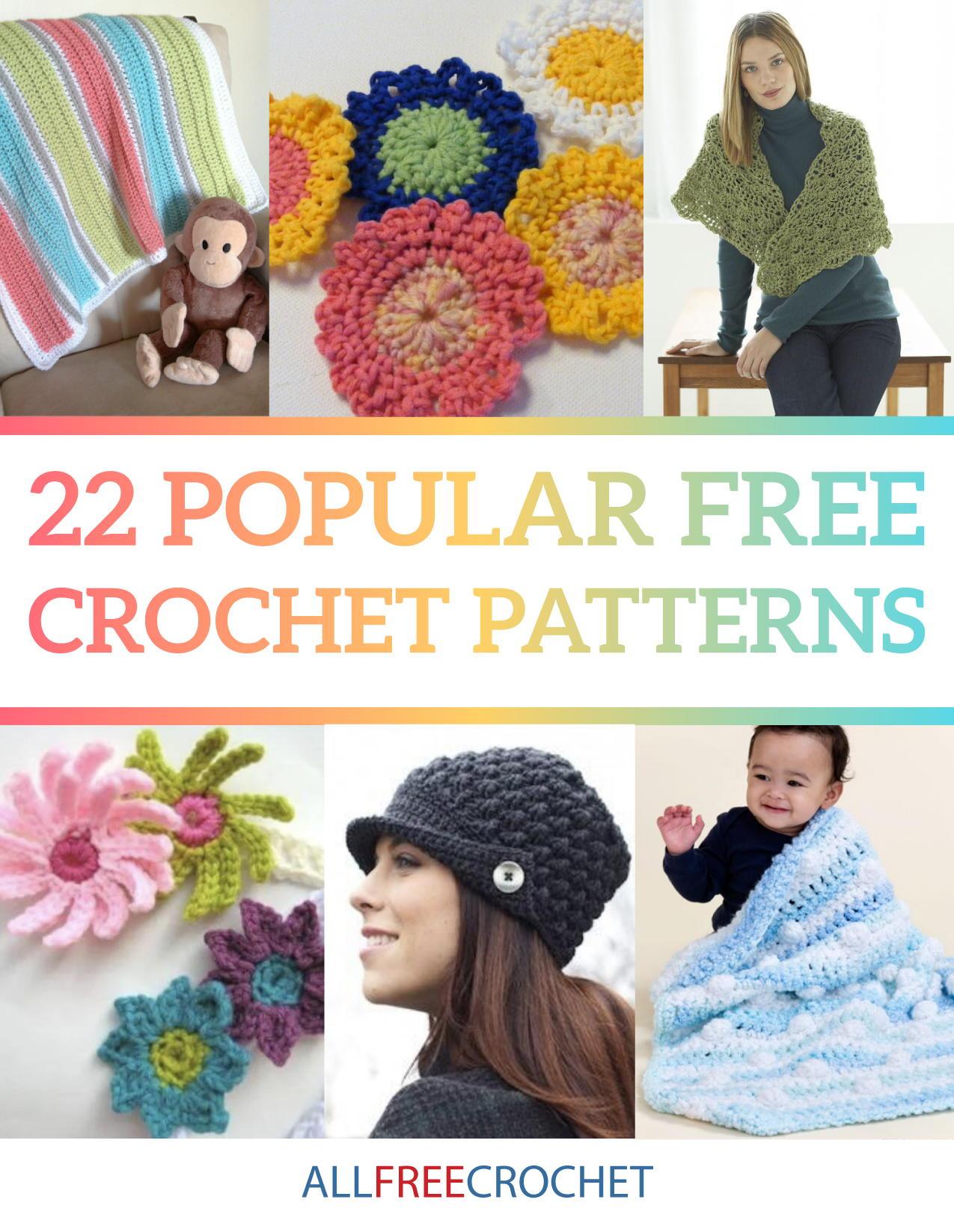 22 Popular Free Crochet Patterns Ebook Allfreecrochet Com