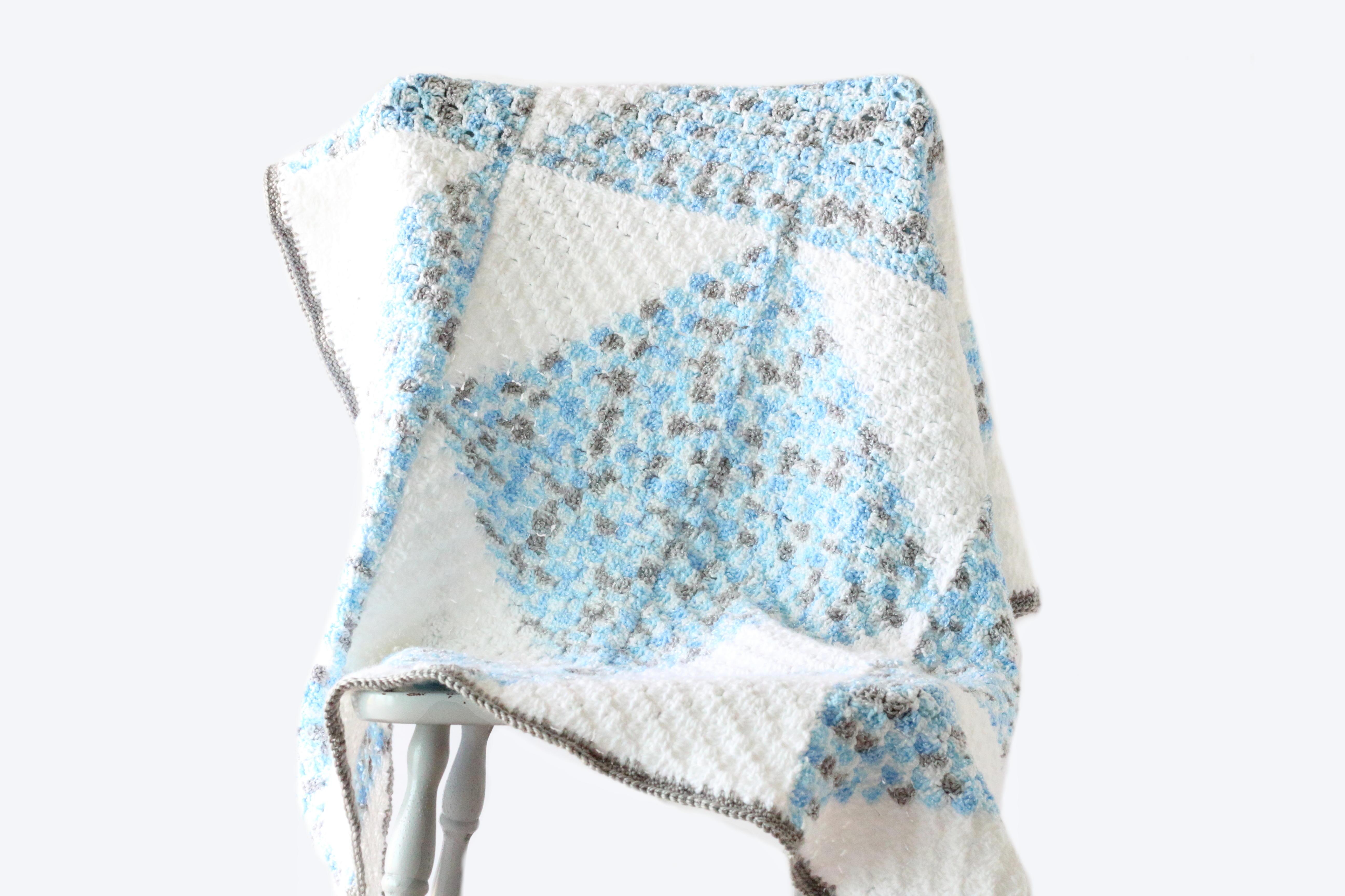 Pascal C2c Baby Blanket Allfreecrochet Com