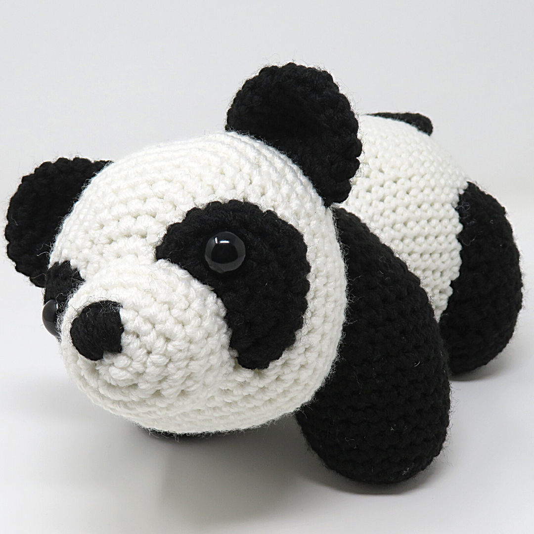 Crochet Panda Bear Hat - Repeat Crafter Me | 1080x1080
