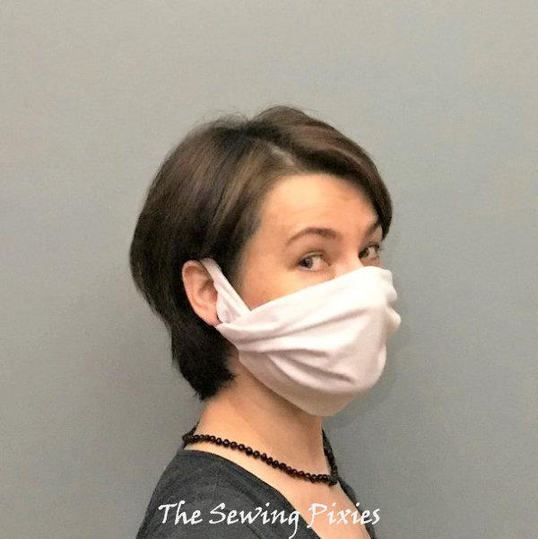 How To Make A No-Sew Face Mask Using T-Shirt