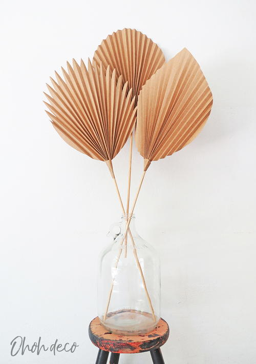 How To Make Palm Leaves With Paper