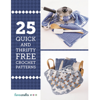 """25 Quick and Thrifty Free Crochet Patterns"" eBook"