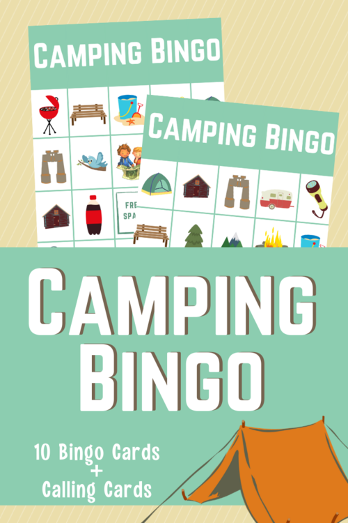 Fun Printable Camping Bingo For Kids