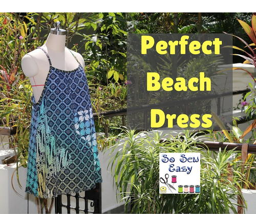 Perfect Beach Dress Free Sewing Pattern