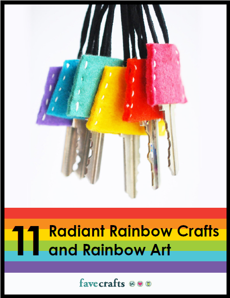 11 Radiant Rainbow Crafts and Rainbow Art