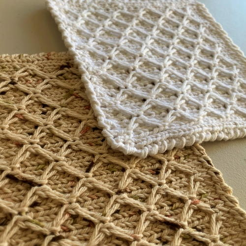 Diamonds Dishcloth