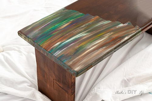 Easy Lap Desk with Epoxy Resin