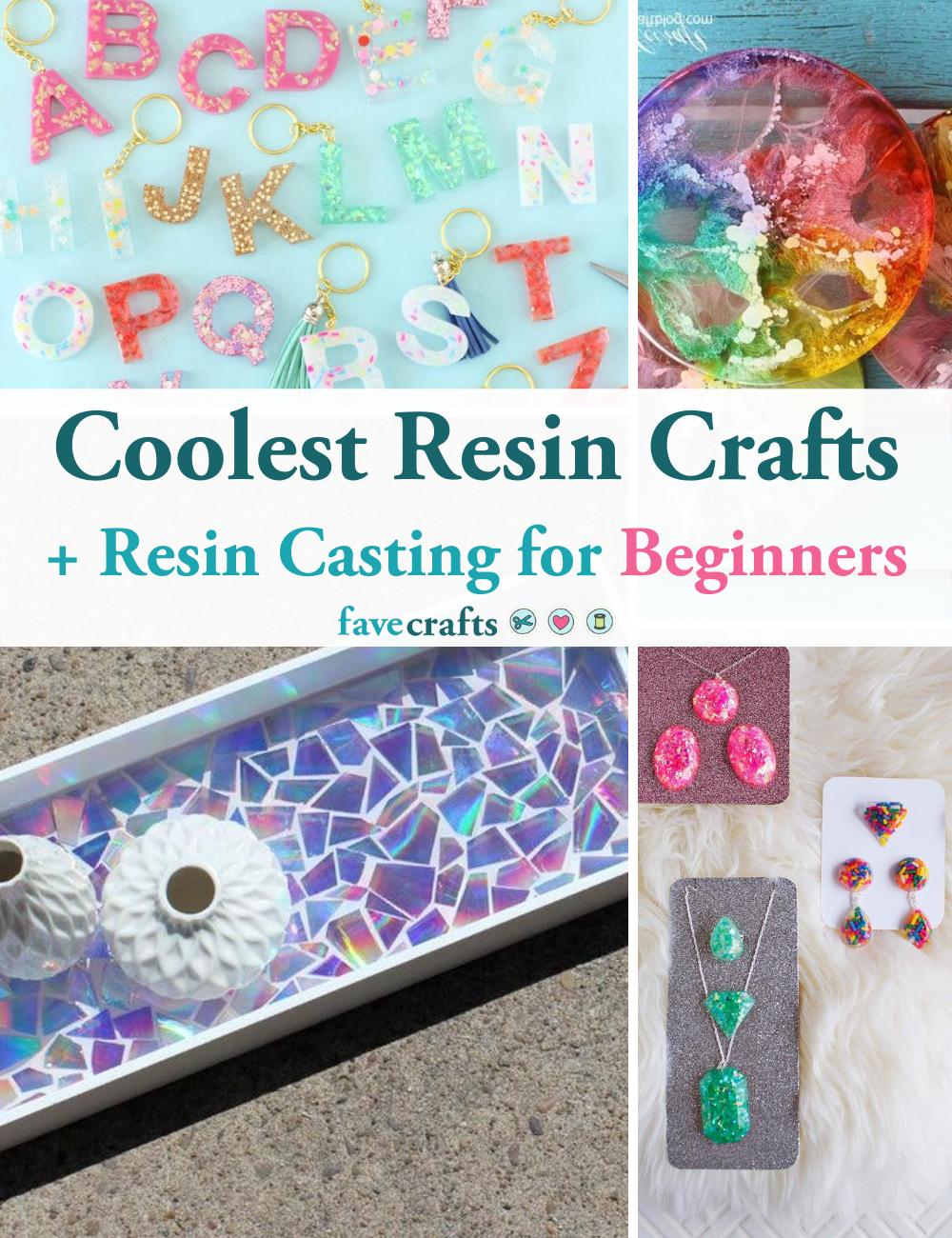 12 Coolest Resin Crafts Resin Casting For Beginners Favecrafts Com