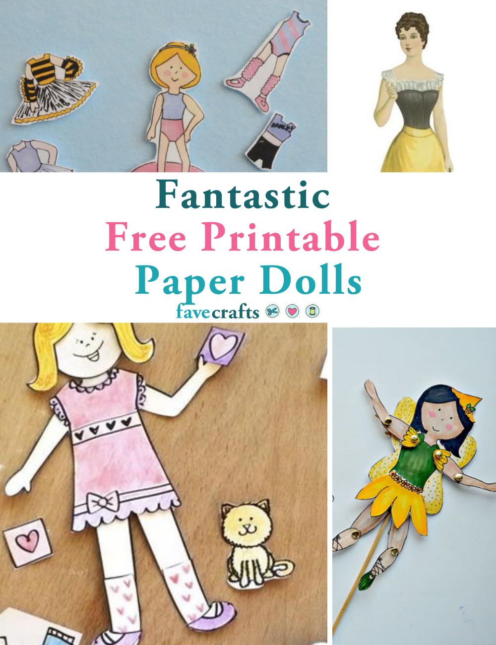 17 Fantastic Free Printable Paper Dolls Favecrafts Com
