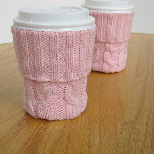 Diy Upcycled Cup Sleeve