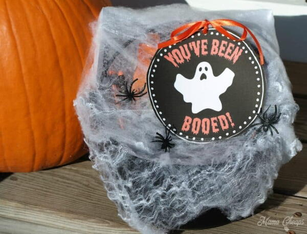 """You've Been Boo'ed"" Printable Kit"