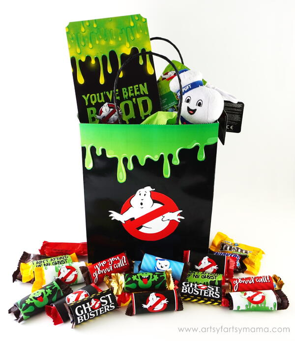 Ghostbusters-Inspired Halloween Boo Bag