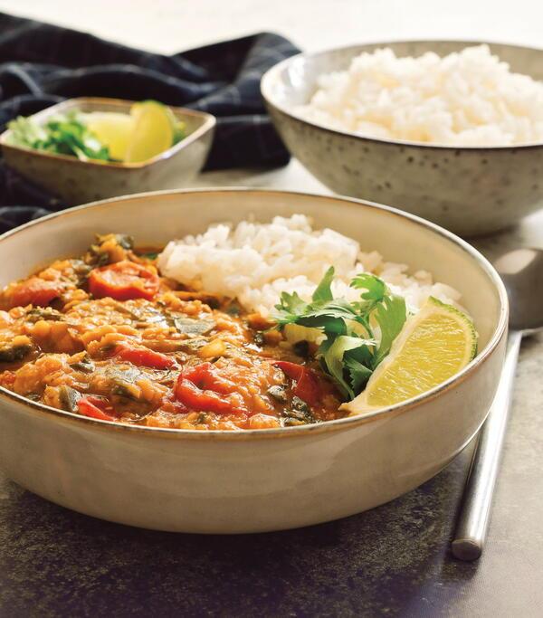 Coconut-Lentil Curry