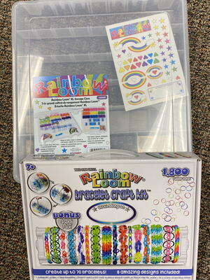 Rainbow Loom Bracelet Craft Kit & Storage Container Giveaway