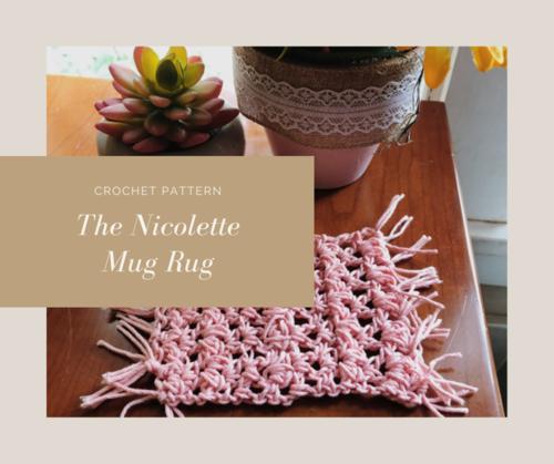 The Nicolette Mug Rug