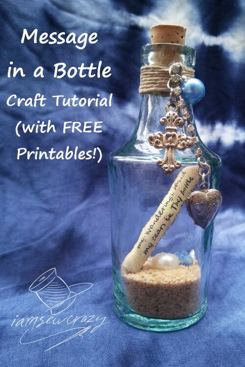 Message In A Bottle (with Free Printables!)