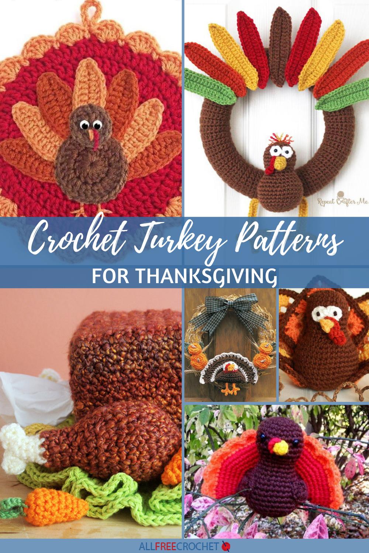 15 Free Crochet Turkey Patterns For Thanksgiving Allfreecrochet Com