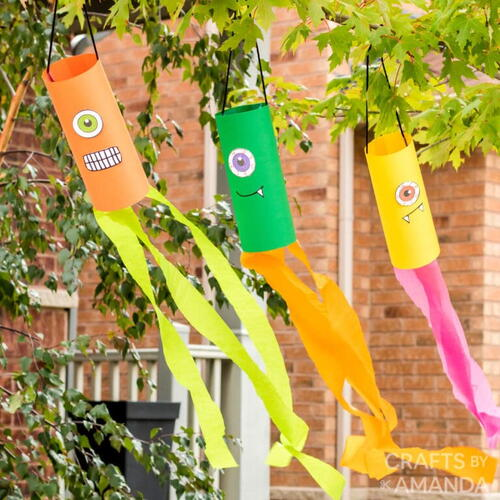 Monster Wind Socks