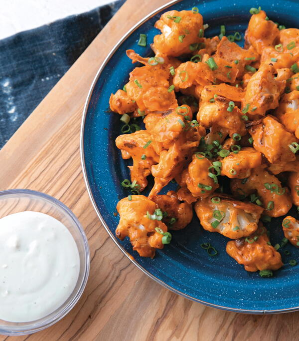 Buffalo Cauliflower Wing Bites