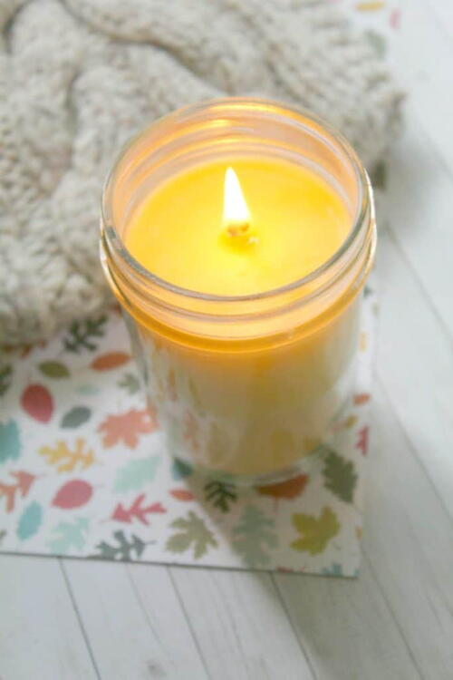 Mason Jar Candle Ideas