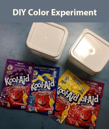 DIY Color Experiment