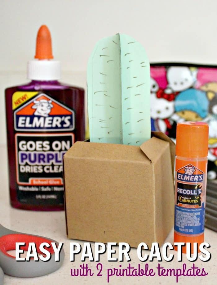 Paper Cactus Crafts