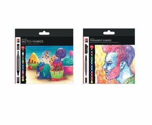 Marabu Graphix Permanent and Sketch Marker Set Giveaway