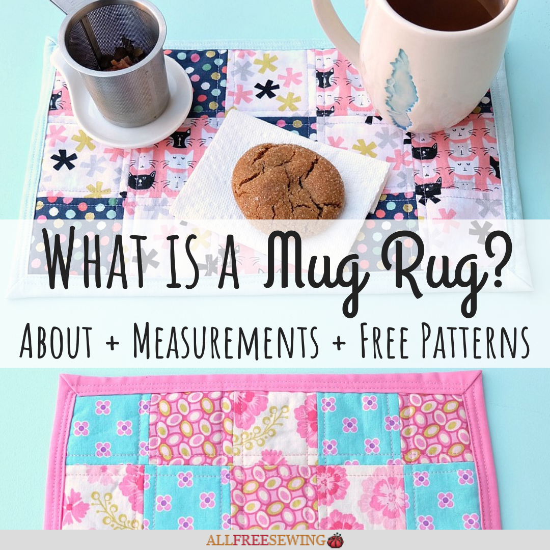 What Is A Mug Rug Free Mug Rug Patterns Allfreesewing Com