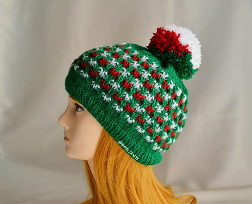 Christmas Lights Hat
