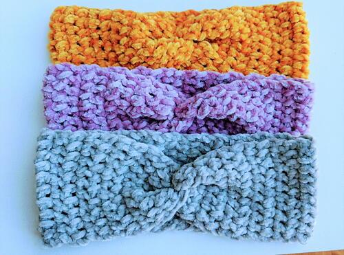 Crochet Ear Warmer / Winter Headband