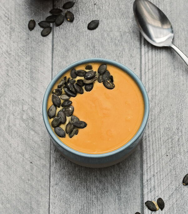 Roasted Apple Butternut Squash Soup