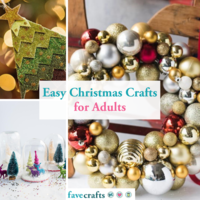100+ Easy Christmas Crafts for Adults
