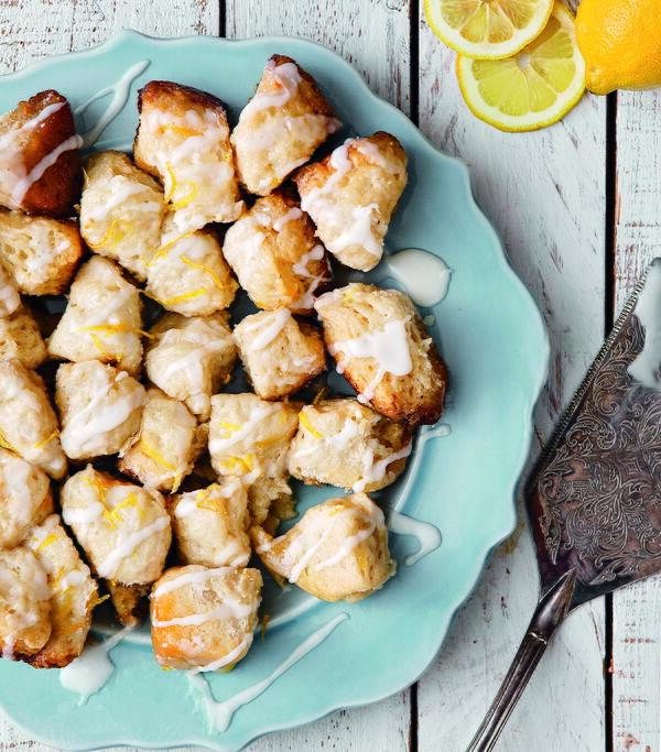 Lemon Pull-Apart Biscuits