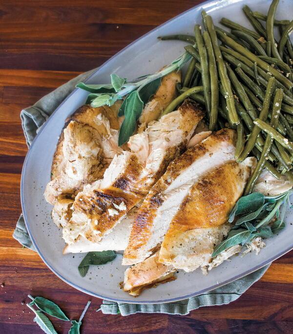 Garlic Sage Turkey Breast
