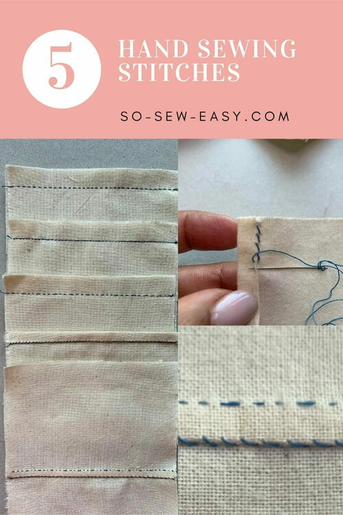Hand-sewing Stitches For Making Clothes By Hand