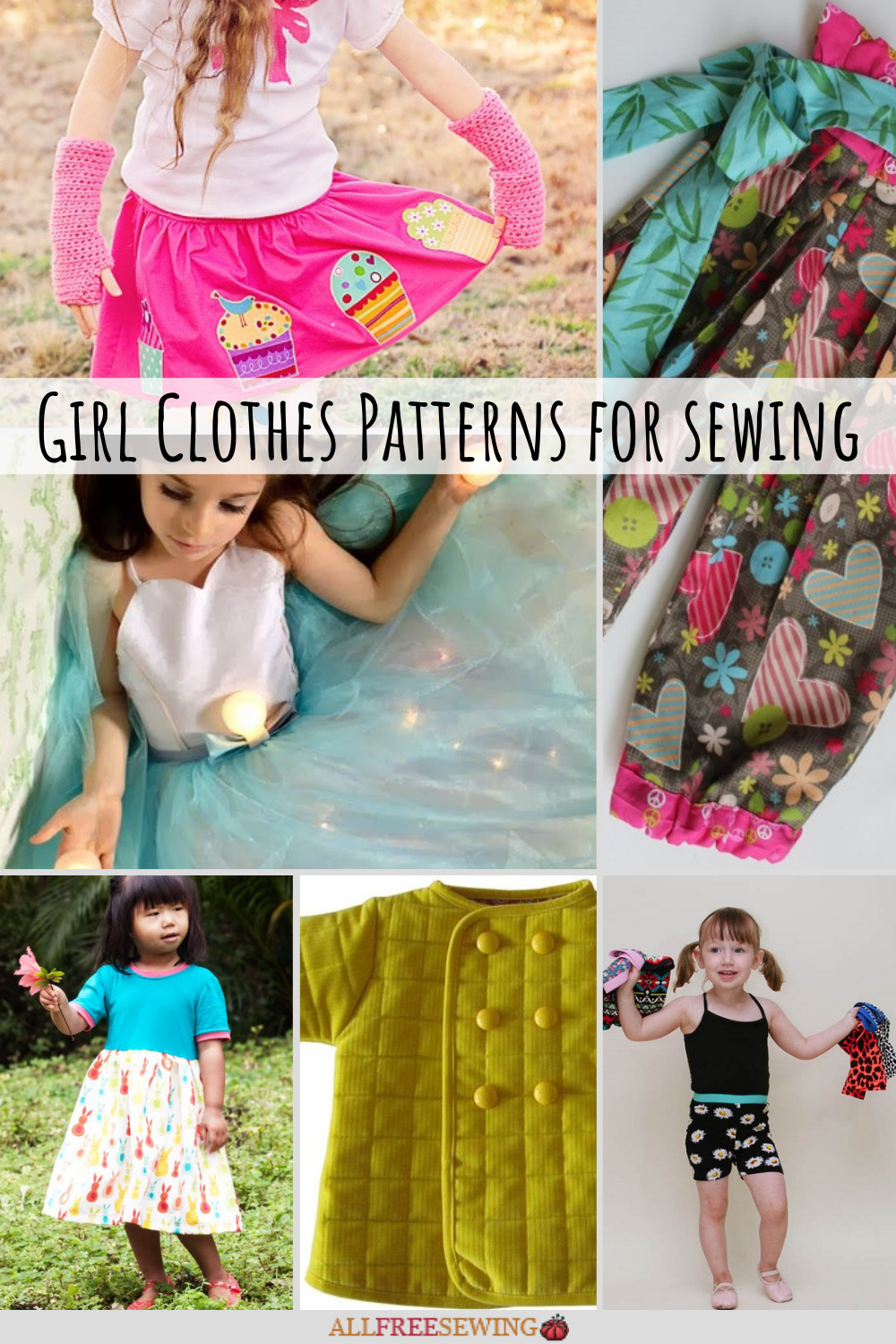 50 Free Girl Clothes Patterns For Sewing Allfreesewing Com
