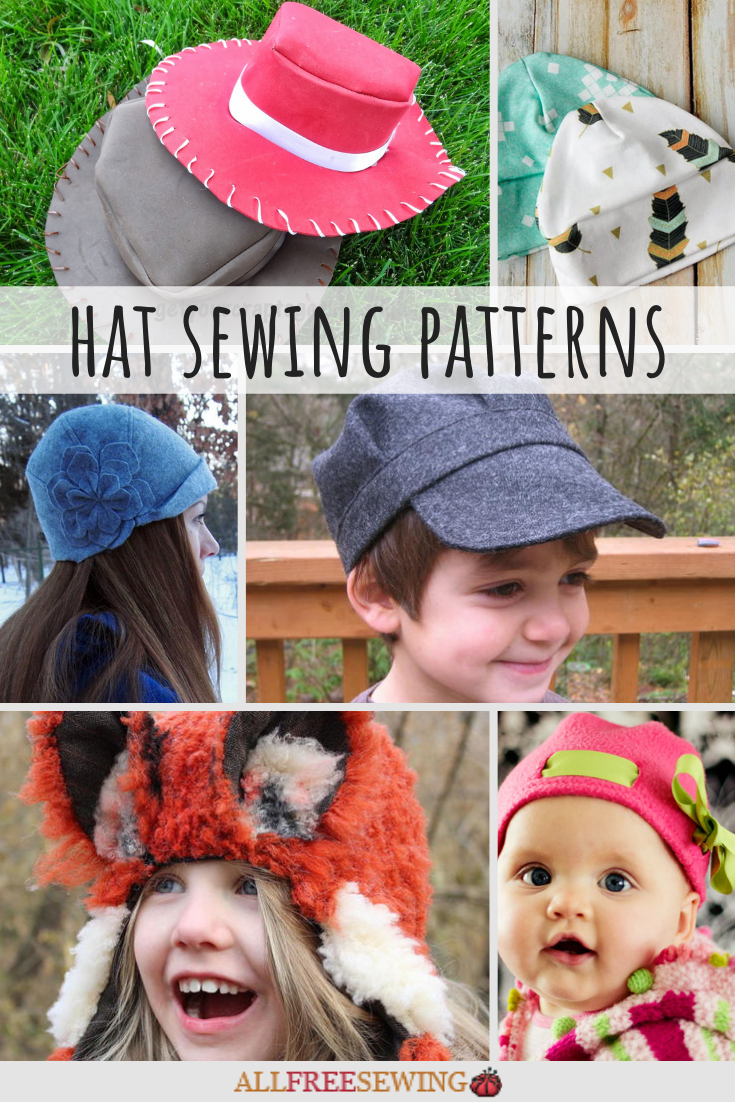 35 Hat Sewing Patterns Free Allfreesewing Com