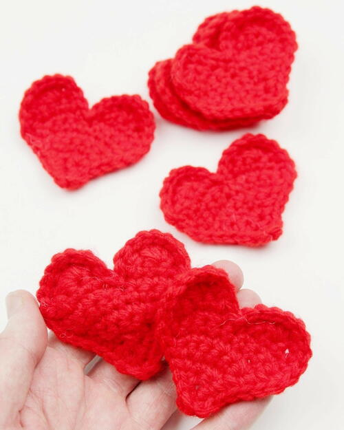 Quick And Easy Crochet Heart Pattern