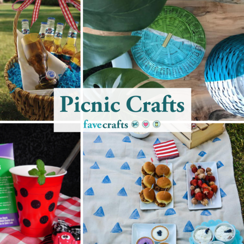23 Picnic Craft Ideas to Help You Celebrate Summer
