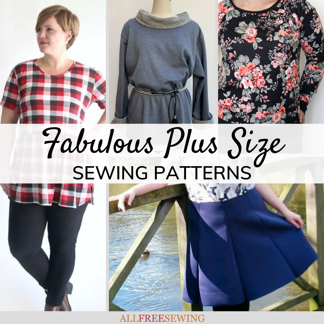 A Shaped Plus Size, Altered Denim Shirt to Tunic