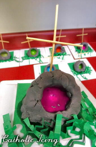 Empty Tomb Easy Easter Craft