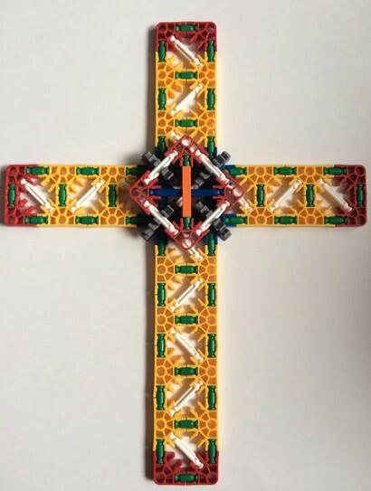 Knex DIY Easter Cross