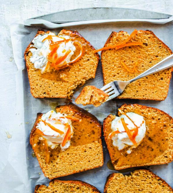 Orange Peel Pound Cake