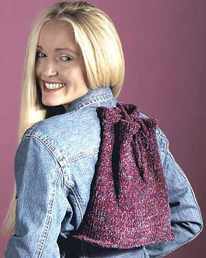 Easy Knit Backpack