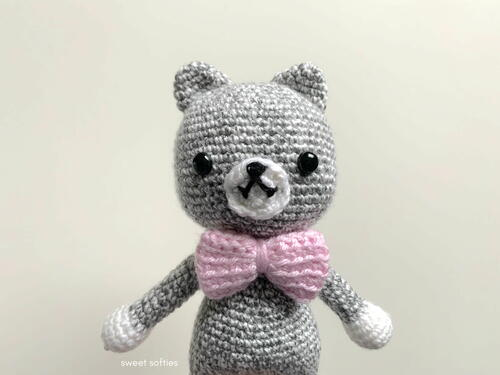 The Cute Catsby Amigurumi Doll