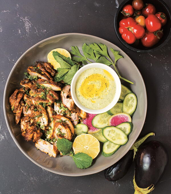 Everyday Chicken Shawarma
