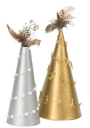 Trees in Silver and Gold