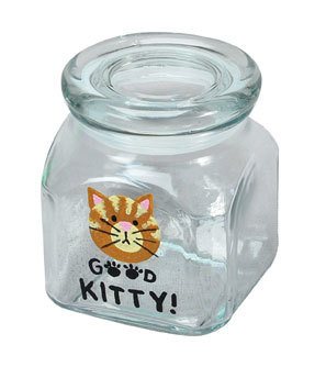 Kitty Treat Jar
